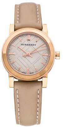 Burberry The City Watch Rose The City Watch
