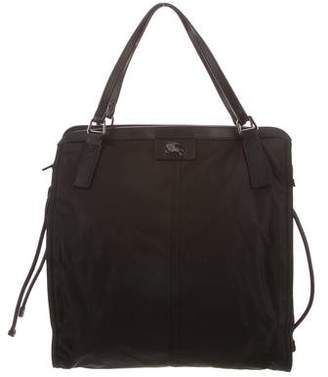 23082be1d118 Burberry Black Leather Tote Bags - ShopStyle
