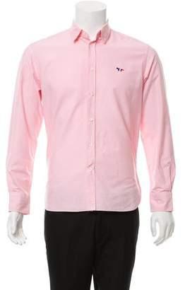 MAISON KITSUNÉ Long Sleeve Button-Up Shirt