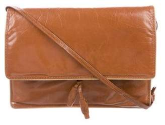 Bottega Veneta Vintage Distressed Leather Shoulder Bag
