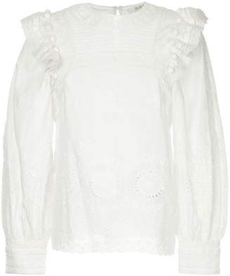 Sea Sofie broderie anglaise blouse