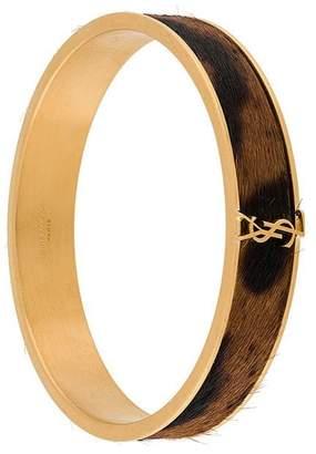Saint Laurent camel hair bracelet