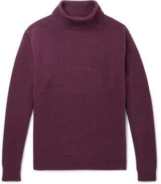 Camoshita Wool And Cashmere-Blend Rollneck Sweater