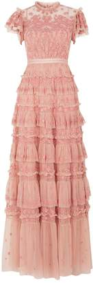 Needle & Thread Darcy Tiered Gown