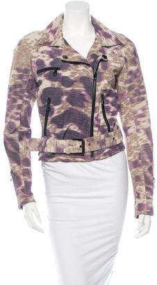 Mulberry Leather Moto Jacket $500 thestylecure.com