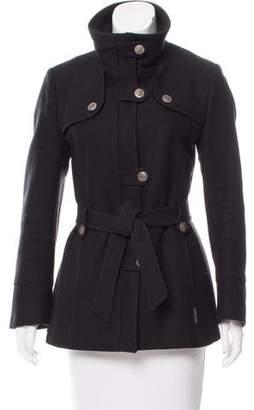 Saint James Short Wool Coat
