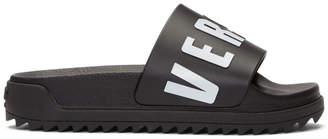 Versus Black Logo Slides