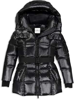 SAM. Girls' Soho Belted Puffer Jacket - Big Kid