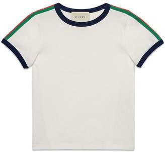 Gucci Kids Children's T-shirt with Kingsnake