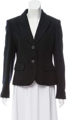 MICHAEL Michael Kors Metallic Tweed Blazer