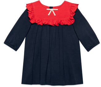 Baby crêpe ruffle dress $280 thestylecure.com