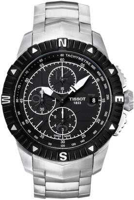 Tissot Men's T-Navigator Automatic Chronograph Watch, 44mm