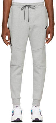 Nike Grey Tapered Track Pants