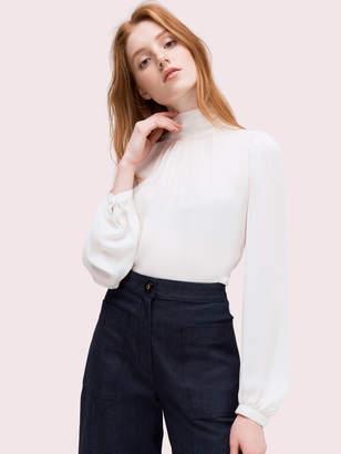 Kate Spade high-neck blouse