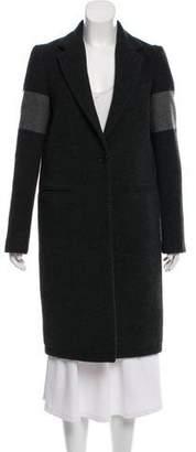 James Perse Longline Notch-Lapel Coat w/ Tags