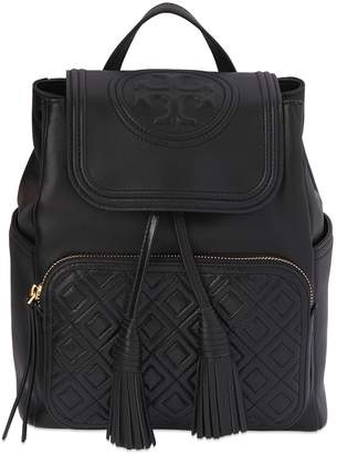 Tory Burch Fleming Quilted Leather Backpack