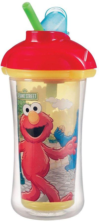 Munchkin Click Lock Insulated Straw Cup - Sesame Street - 9 oz