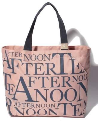 Afternoon Tea (アフタヌーン ティー) - Afternoon Tea LIVING スリットポケット付きロゴバッグS
