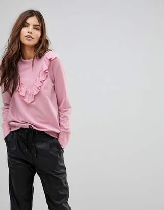 Vero Moda Ruffle Front Sweater
