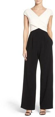 Women's Eliza J Wide Leg Jumpsuit $148 thestylecure.com