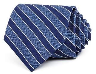 Bloomingdale's The Men's Store at Seasonal Stripe Silk Classic Tie - 100% Exclusive