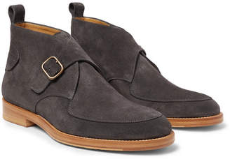 McCaffrey Buckled Suede Boots