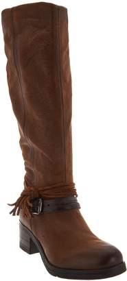 Miz Mooz Leather Tall Shaft Boots - Sugar
