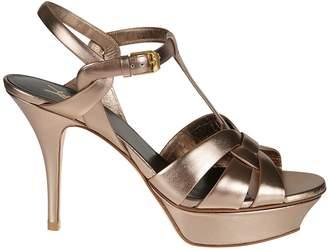 Saint Laurent Tribute Platform Sandals