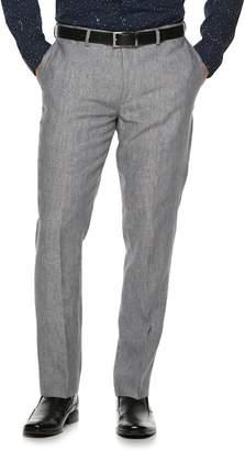 Apt. 9 Men's Slim-Fit Linen Stretch Flat-Front Suit Pants