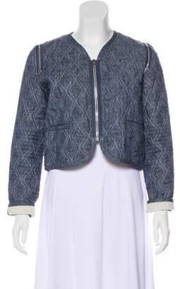 Alexander Wang Linen Quilted Jacket