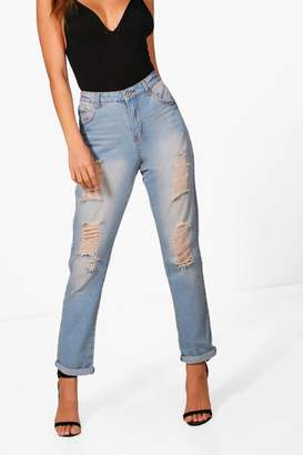 boohoo Boyfriend Denim Jeans