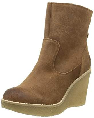 Bullboxer Women 925503E6C Warm-Lined Short-Shaft Boots and Bootees Brown Size: 6 UK