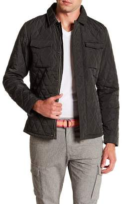 Scotch & Soda Lightweight Quilted Shirt Jacket