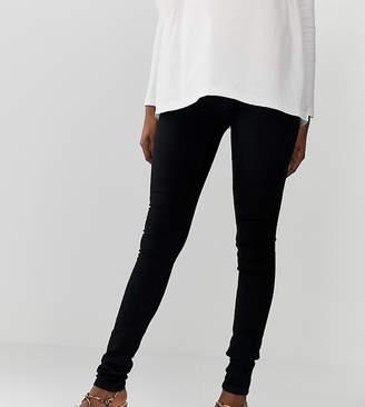 Mama Licious Mamalicious elastic side jeans