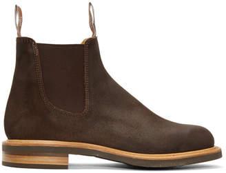 R.M. Williams Brown Gardener Full Welt Chelsea Boots
