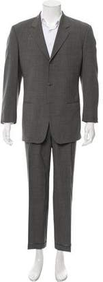 Armani Collezioni Wool Three-Button Suit