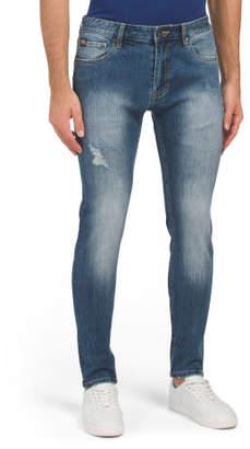 Skinny Fit Medium Vintage Wash Jeans