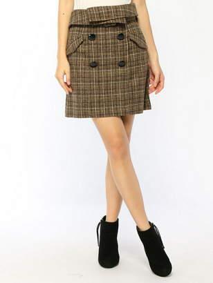 CECIL McBEE (セシル マクビー) - CECIL McBEE トレンチ型スカート セシル マクビー スカート
