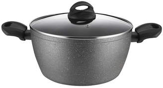 """Amercook Aluminum Casserole Glass Lid with Induction Buttom 11"""""""