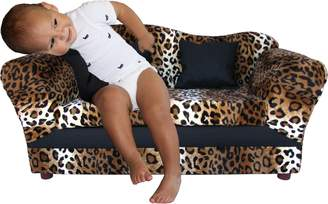 Keet Wave Kid's Sofa, Leopard