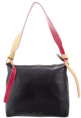 Celine Zipped Twisted Cabas Tote red Zipped Twisted Cabas Tote
