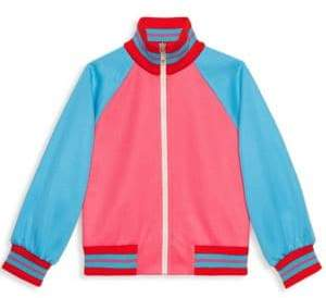 Gucci Little Girl's& Girl's Zip-Front Track Jacket