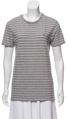AllSaints Striped Short Sleeve T-Shirt