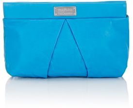 Marc by Marc Jacobs MARC BY MARC JACOBS WOMEN'S MARCHIVE CLUTCH-BLUE $248 thestylecure.com