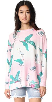 Wildfox Hot Tropics Sweatshirt $118 thestylecure.com