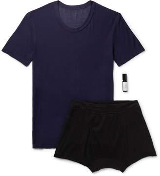 Secondskin - Slim-Fit Business Pitch Travel Set - Men - Purple