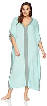 Arabella Women's Plus Size Maxi Loungewear Caftan