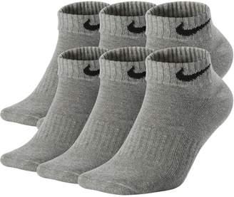 Nike Men's 6-pack Performance Low-Cut Socks