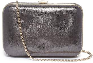 Anya Hindmarch 'Chubby Frame' quilted crinkled nappa leather clutch