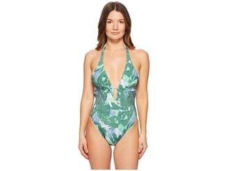 Letarte Halter One-Piece Women's Swimsuits One Piece